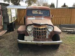100 Willys Jeep Truck For Sale 1953 For ClassicCarscom CC1124057