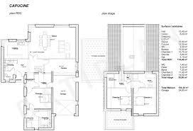 plan maison 4 chambres etage plan maison 4 chambres frais plan maison etage 4 chambres 1 bureau