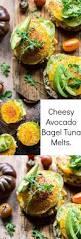 Panera Pumpkin Bagel Points Plus by Cheesy Avocado Bagel Tuna Melts Half Baked Harvest