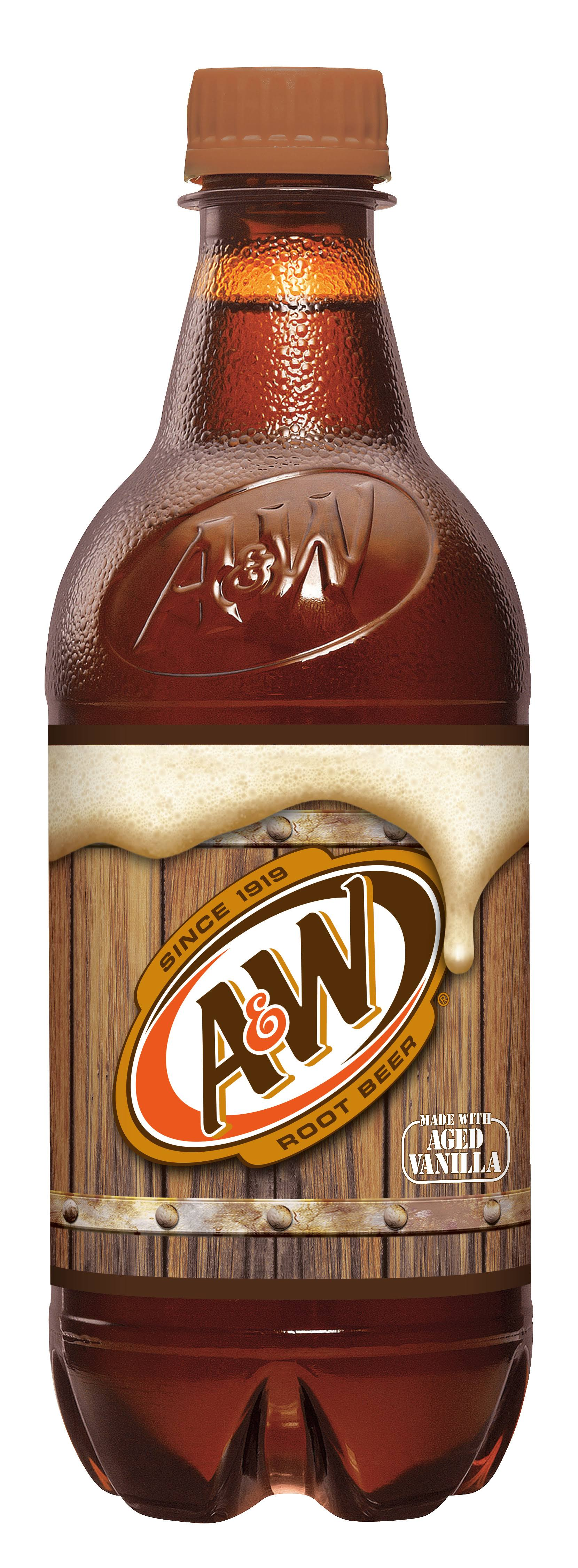 A & W Root Beer - 20 fl oz