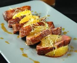 cuisiner le magret magret de canard au thé earl grey et à l orange recette de