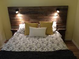 Headboard Lights For Reading by Headboard With Reading Lights Built In Home Design Ideas