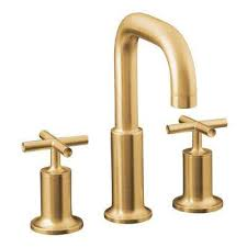 Kohler Purist Widespread Lavatory Faucet by Gold Widespread Bathroom Sink Faucets Bathroom Sink Faucets