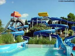 In This Serpentine Water Slide The Sharpest Curves Are Completely Enclosed So Riders Won