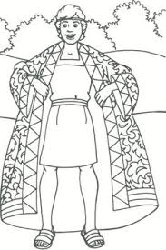Coloring Pages Joseph And The Coat Of Many Colors