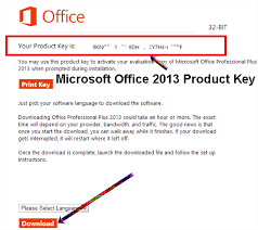 Download Microsoft fice 2013 Professional with Product Key for