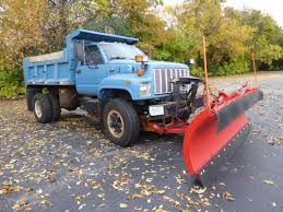 100 Truck With Snow Plow For Sale 1992 CHEVROLET KODIAK TOPKICK DUMP TRUCK W12