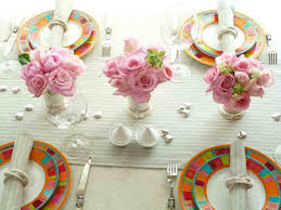 Easy Spring Table Decorations Decorating Ideas Interior Christmas Diy Easter For Homemade And