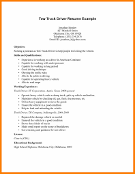 100 Truck Driver Resume Examples Resume Samples For Truck Drivers Radiovkmtk
