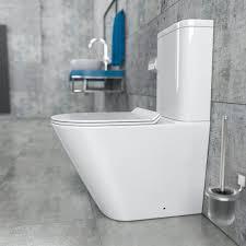 bad küche wc deckel spülrandloses toilette stand wc