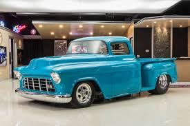 100 1955 Chevy Truck Restoration Chevrolet 3100 Classic Cars For Sale Michigan Muscle Old