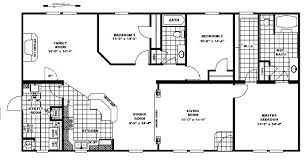 Fleetwood Triple Wide Mobile Home Floor Plans by 10 Great Manufactured Home Floor Plans