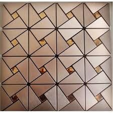 metall glas mosaik diamant gebürstetem aluminium alucobond