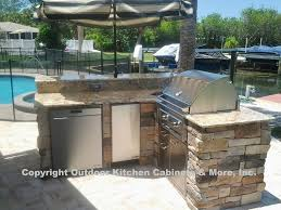 Outdoor Kitchen Cabinets & More