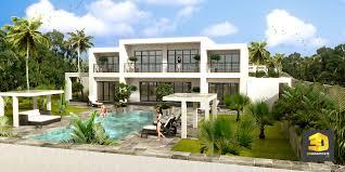 plan de maison moderne 3d 5 21 villa moderne 3d asnieres sur