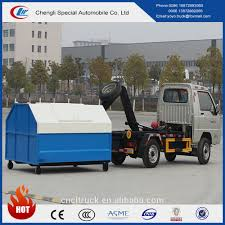 100 Used Roll Off Trucks 3cbm On Garbage Truck Capacity With Cheapest Price