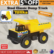 Large Metal Tonka Dump Truck Huge 42cm Sandpit Construction Vehicle ...