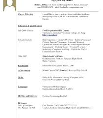 Examples Of Resumes For Highschool Students With No Experience And Outstanding Sample Resume College Student Summer Job