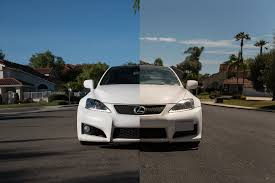 lexus is250 to is f conversion front clip install