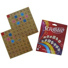 Wild And Wolf Complete Scrabble Refrigerator Game Set Fridge Magnets