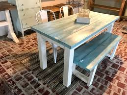 Vintage Aqua Small Farmhouse Table Set, With Bench And Metal Chairs ... Farmhouse Table Emmworks Brand New Shaker Bench Set With Refurbished Farmhouse Chairs Monika S Custom Rustic And Chair Order Trestle Barn Wood Xstyle Legs Benches Etsy Glenview Ding 4 Side Chairs At Gardnerwhite Painted With Black Color Paired And Classic Fan Ecustomfinishes 34 Off Wayfair Urban Outfitters Farm 7ft Pedestal Long Metal Fruitwood Farm Chair Houston Tx Event Rentals Bolanburg 6 Piece Rectangular