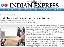 Rebuttal To New Indian Expresss Baseless Report Caliphate Radicalisation Rising