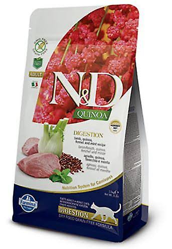 Farmina N&D Quinoa Digestion Lamb Cat Food Cat Food - 3.3 lbs.