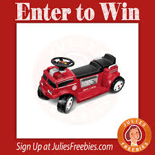Win A Radio Flyer Firetruck For 2 - Julie's Freebies Little Red Fire Engine Truck Rideon Toy Radio Flyer Designs Mein Mousepad Design Selbst Designen Apache Classic Trike Kids Bike Store Town And Country Wagon 24 Do It Best Pallet 7 Pcs Vehicles Dolls New Like Barbie Allterrain Cargo Beach Wagons Cool For Cultured The Pedal 12 Rideon Toys Toddlers And Preschoolers Roadster By Zanui Amazoncom Games 9 Fantastic Trucks Junior Firefighters Flaming Fun