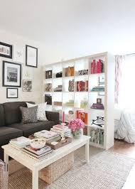 Next To A Booksheld Bedroom Tiny Apartment