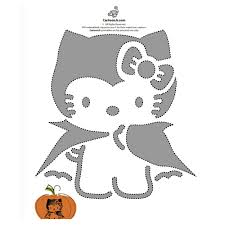 Pirate Pumpkin Template Free by Free Hello Kitty Pumpkin Templates Popsugar Tech