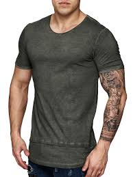 f u0026s men dyed t shirt army green muscles and men u0027s fashion