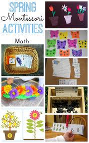 Montessori Spring Math Activities