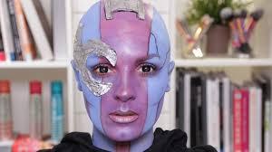 Carli Bybel Halloween 2015 by Halloween Nebula Makeup Videos