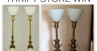 Vintage Stiffel Lamps Value by Librarian Tells All Thrift Store Win Vintage Stiffel Lamps And
