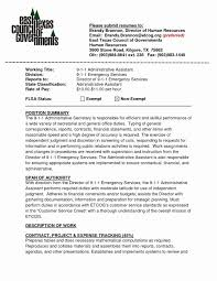 48 Stunning Administrative Assistant Job Description Fresh Sample Resume For Awesome
