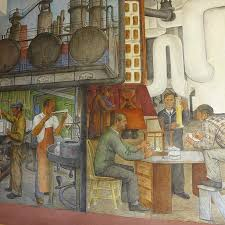 Coit Tower Murals Diego Rivera by Industries Of California By Ralph Stackpole Picture Of Coit