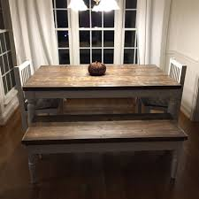 Buy A Handmade Handcrafted, Solid Wood Classic Farm Table ... Lindsey Farm 6piece Trestle Table Set Urban Chic Small Ding Bench Hallowood Amazoncom Vermont The Gather Ash 14 Rentals San Diego View Our Gallery Lots Of Rustic Tables Jesus Custom Square Farmhouse Farm Table W Matching Benches Reclaimed Chestnut Wood Harvest Matching Free Diy Woodworking Plans For A Farmhouse Handmade Coffee Ashley Distressed Counter 4 Chairs Modern Southern Pine Wmatching Bench