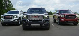 Compare The 2018 GMC Sierra 1500 & The 2018 Chevy Silverado 1500 2019 Gmc Sierra Or Chevy Silverado Which One Do You Like Road Test And Review Innovative From Back To Front 20 Denali 2500 Hd Spied With Luxurylevel Upgrades Chevrolet High Country Vs Ck Wikipedia Ram 1500 Pickup Truck Gets Jump On Lift Level Your Trucksuv The Right Way Readylift Bifuel Natural Gas Pickup Trucks Now In Production Gm To Offer Clng Engine Option Trucks And Vans Competion Lowe Red Wing Mn