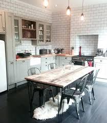 table de cuisine vintage table cuisine carrelee table de cuisine carrelace table bois