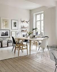 mix de sol dans la salle à manger entre parquet blanchi et