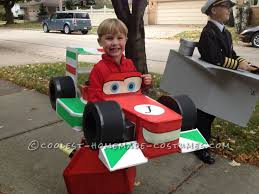 He Was So Excited Fire Truck Costume. Cars 2 Lightning Mcqueen With ...
