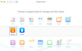 AnyTrans line Help Browse iOS File System & iPhone Backup Files