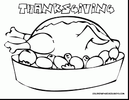 Outstanding Thanksgiving Turkey Coloring Pages Printables With Color Page And Free