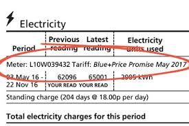 Energy Tariffs No Standing Charge by Your Edf Energy Bill Explained Comparethemarket Com