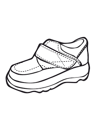 Shoe Print Nike Shoes Coloring Pages