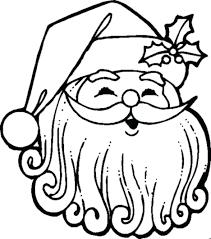 Color Santa Claus Games Original Of Dress Face Coloring Pages Print Large Size