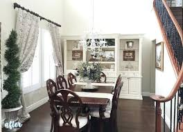 Living Room Hutch White With Formal Dining Plans