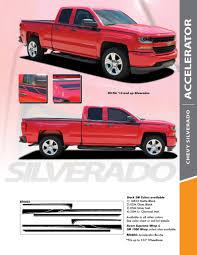 100 Chevy Truck Accessories 2014 Automotive 2018 Silverado Accent Rally Side Vinyl