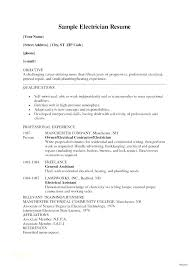 Resume Examples Electrician Ectrical Contractor Ectrician Resumes Samples Foreman Or Journeyman Sample
