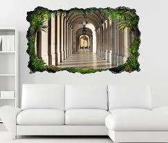 3d wandtattoo durchgang tür flur marmor selbstklebend wandbild wandsticker wohnzimmer wand aufkleber 11o314 3dwandtattoo24 de